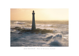 Phare De Skerryvore, Scotland Giclee Print by Jean Guichard