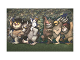 Let the Wild Rumpus Start III Giclee Print by Maurice Sendak