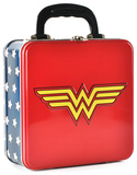 Wonder Woman - Logo Embossed Tin Tote Lunch Box