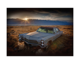 Last Light - Keeler, California Giclee Print by Rod Edwards
