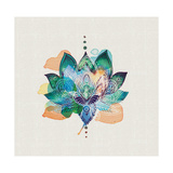 Lotus Flower Giclee Print by Summer Thornton