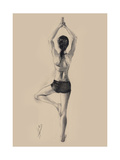 Tree Pose Giclee Print by Hazel Bowman