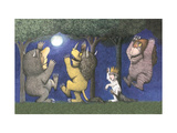 Let the Wild Rumpus Start I Giclee Print by Maurice Sendak