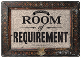 Harry Potter - Room of Requirement Plechová cedule