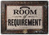 Harry Potter - Room of Requirement - Metal Tabela