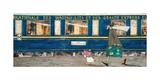 Orient Express Ooh La La Giclée-Druck von Sam Toft
