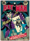 Batman - Joker Plechová cedule