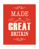 Made in Great Britain Giclee Print by Anthony Peters