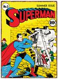 Superman - Jailbreak Plechová cedule