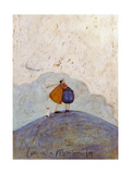 Love on a Mountain Top Giclee Print by Sam Toft