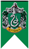 Harry Potter- Slytherin Crest Banner Pósters