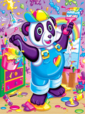 Panda Painter '93 Posters by Lisa Frank