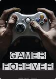 Gamer Forever Blikkskilt