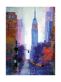 Manhattan Empire State Giclee Print by Colin Ruffell