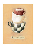 Cafe Espresso Giclee Print by Nicola Evans