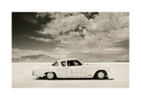Stude V-8 Power Giclee Print by David Perry
