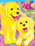 Casey and Caymus '99 Prints by Lisa Frank