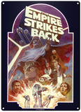 Star Wars - Empire Strikes Back Plaque en métal