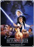 Star Wars - Le Retour du Jedi Plaque en métal