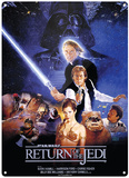 Star Wars - Return of the Jedi Blikkskilt