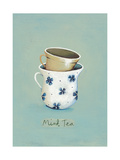 Mint Tea Giclee Print by Nicola Evans