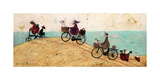 Electric Bike Ride Giclee Print by Sam Toft