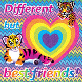 Best Friends Prints by Lisa Frank