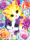 Kitten Roses Posters by Lisa Frank