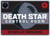 Star Wars - Death Star Carteles metálicos