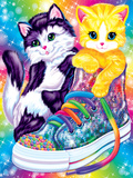 Kitten Sneakers Art by Lisa Frank