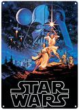 Star Wars - A New Hope Plaque en métal