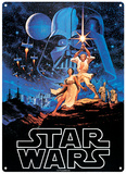 Star Wars - A New Hope Tin Sign