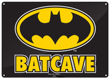 Batman - Batcave Plaque en métal