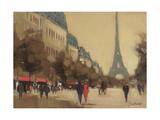 Time Out in Paris Giclée-tryk af Jon Barker
