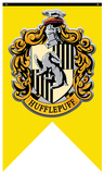 Harry Potter- Hufflepuff Crest Banner Prints