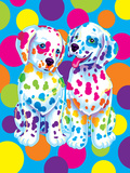 Spotty and Dotty Posters af Lisa Frank
