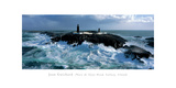 Phare De Slyne Head, Galway, Irlande Giclee Print by Jean Guichard