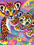 Hunter and Chipper Poster by Lisa Frank