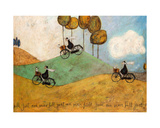 Just One More Hill Giclee Print by Sam Toft