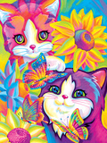 Brushstroke Kittens Prints by Lisa Frank