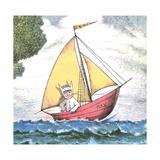 Max Sailing Giclee Print by Maurice Sendak