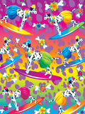 Hula Dogs '92 Posters by Lisa Frank