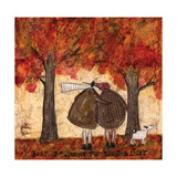 Just Beginning To See The Light Giclee Print by Sam Toft