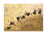 Watch This, Doris! Giclee Print by Sam Toft