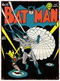Batman - Parachute Blikkskilt