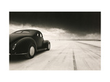 40 Coupe At Takeoff Giclee Print by David Perry