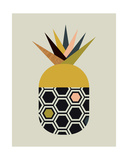 Pineapple Giclee Print by  Little Design Haus