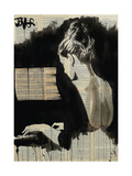 Her Sonata Giclee Print by Loui Jover