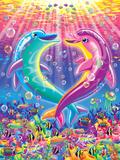 Dancing Dolphins Plakat af Lisa Frank
