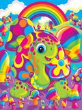Peekaboo Poster van Lisa Frank